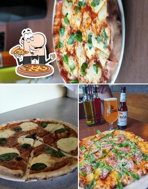 Kostet eine Pizza bei Eldofninn pizzeria