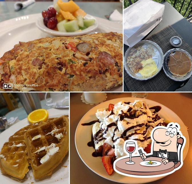 Food at Morningside Cafe