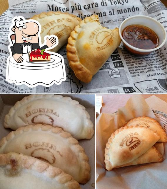 Nonna's Empanadas offers a selection of sweet dishes