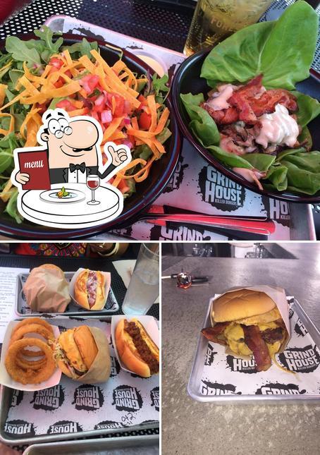 Food at Grindhouse Killer Burgers