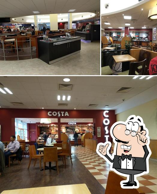 Check out how Costa looks inside