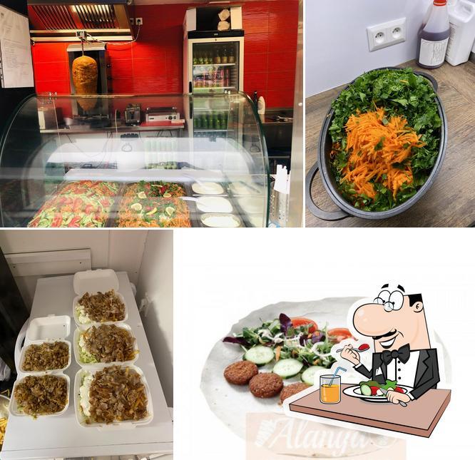 Meals at Bonema Kebab house