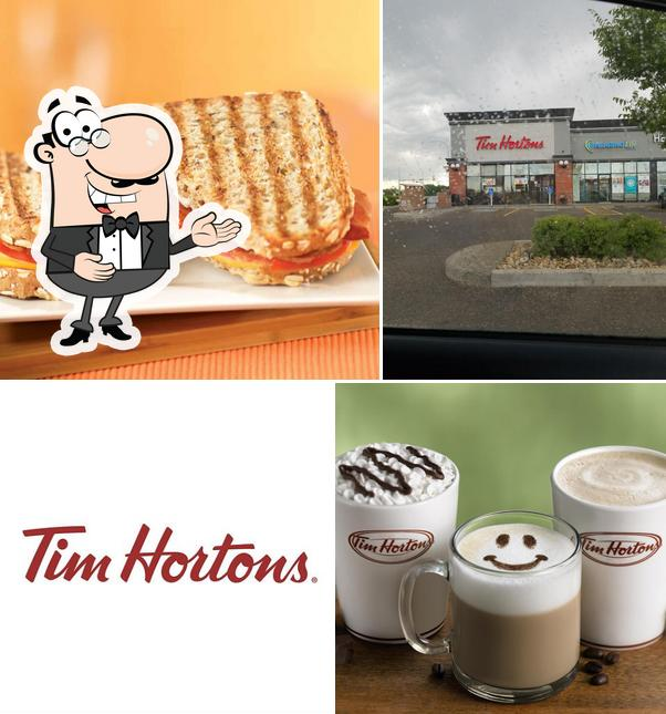 Here's a photo of Tim Hortons