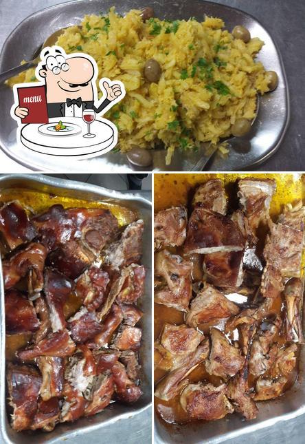 Comida em Restaurante Borges