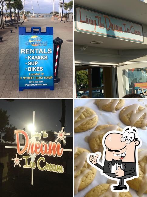 Aquí tienes una foto de Living the Dream Ice Cream