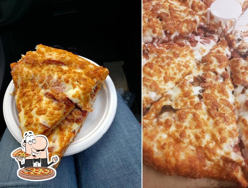 Pick pizza at Canadian Pizza