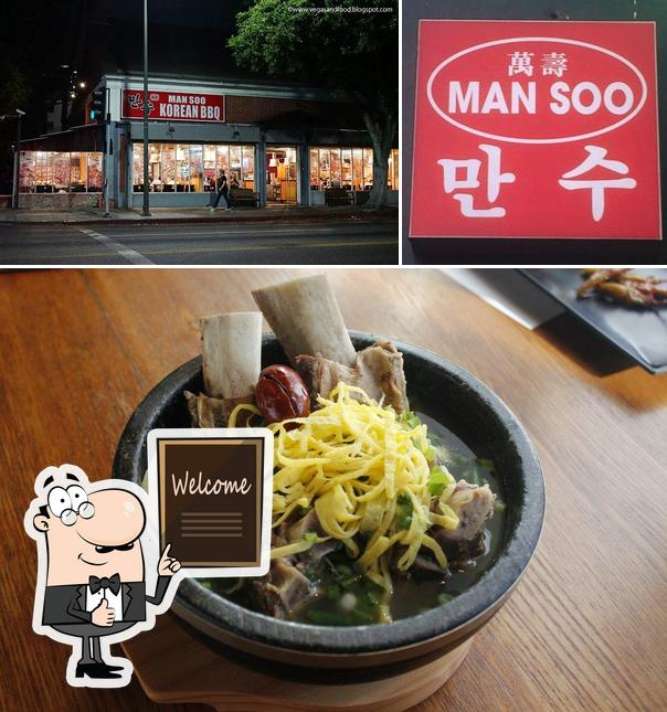 Look at this pic of Man Soo Korean BBQ