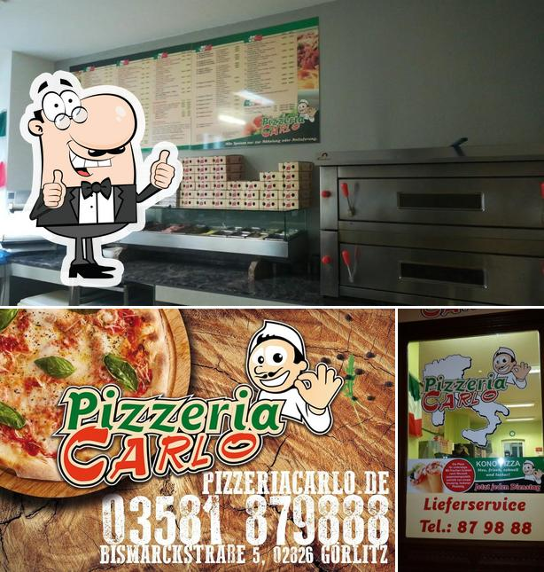 Look at the photo of Pizzeria Carlo
