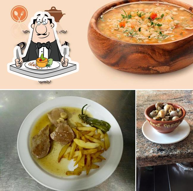 "Еда в ""Restaurante Parra"""