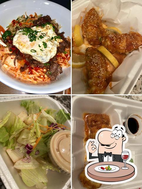 Meals at Kumori Japanese restaurant