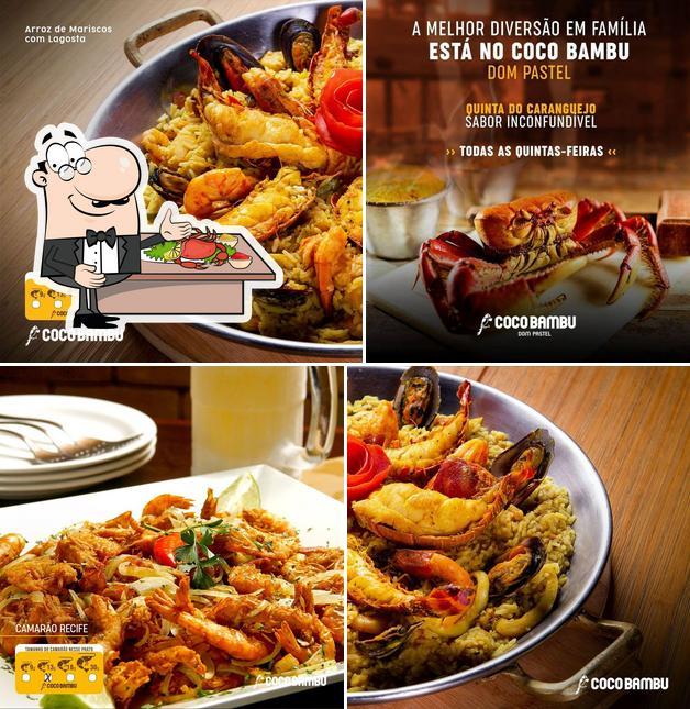 """Закажите блюда с морепродуктами в """"Coco Bambu - Dom Pastel"""""""