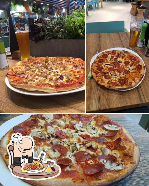 Probiert eine Pizza bei VITO Pizza& Pasta