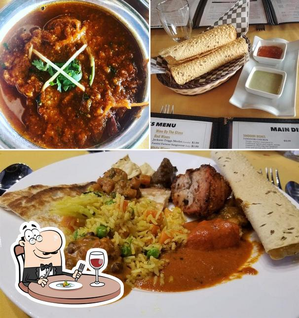 Food at Fusion Authentic Indian Cuisine