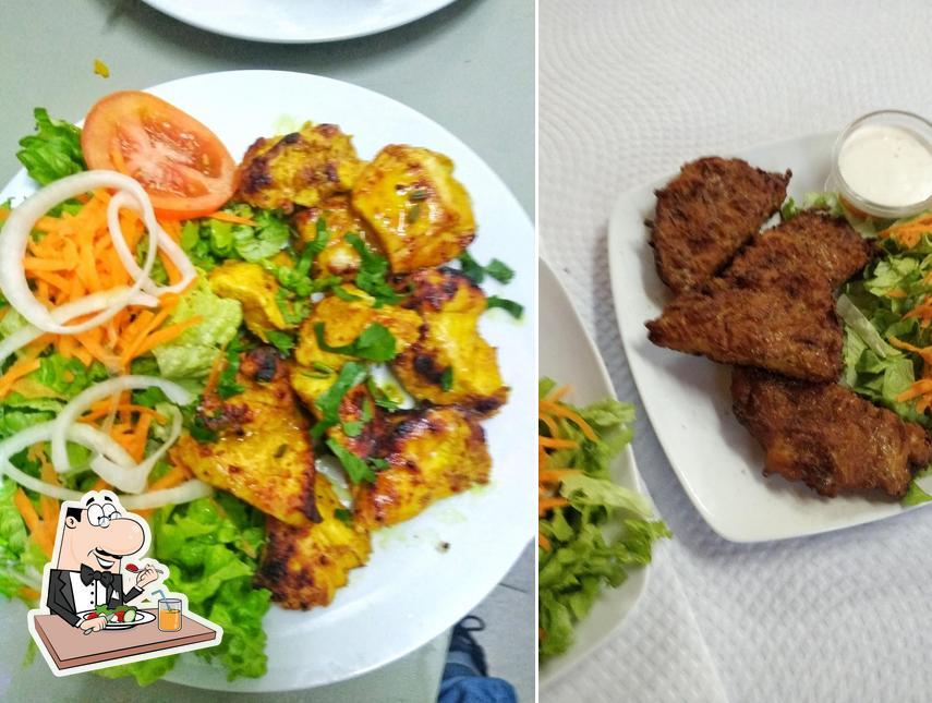 Comida en Swaad Restaurante Indiano e Kebab House