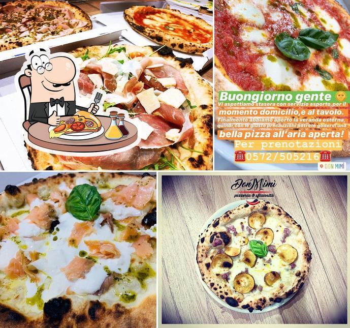 Probiert eine Pizza bei Don Mimi' Pizzeria e Sfiziosita'