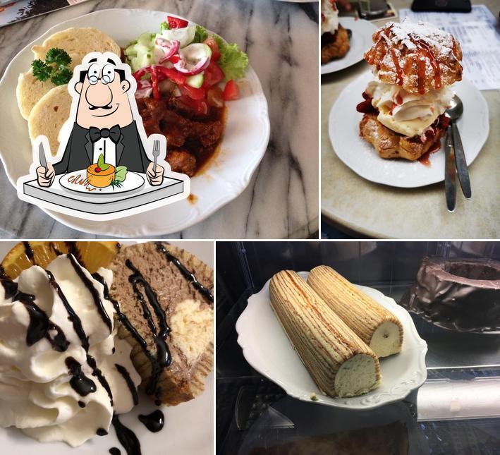 Nourriture à Baumkuchen Cafe