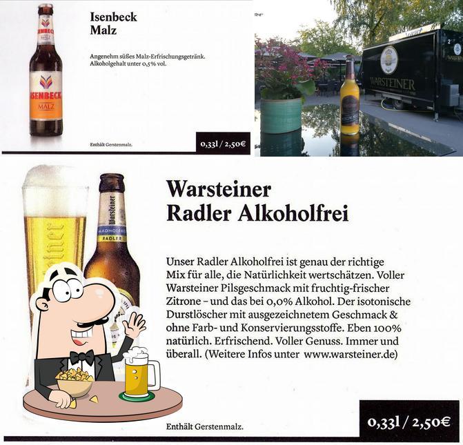 Casa Villani bietet eine Auswahl Biere