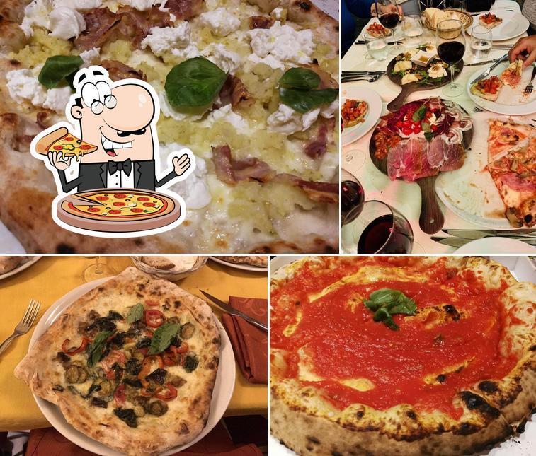 Scegli una pizza a Il Leone Rosso Ristorante Pizzeria