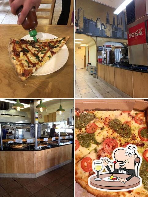 Food at Live From New York Pizza