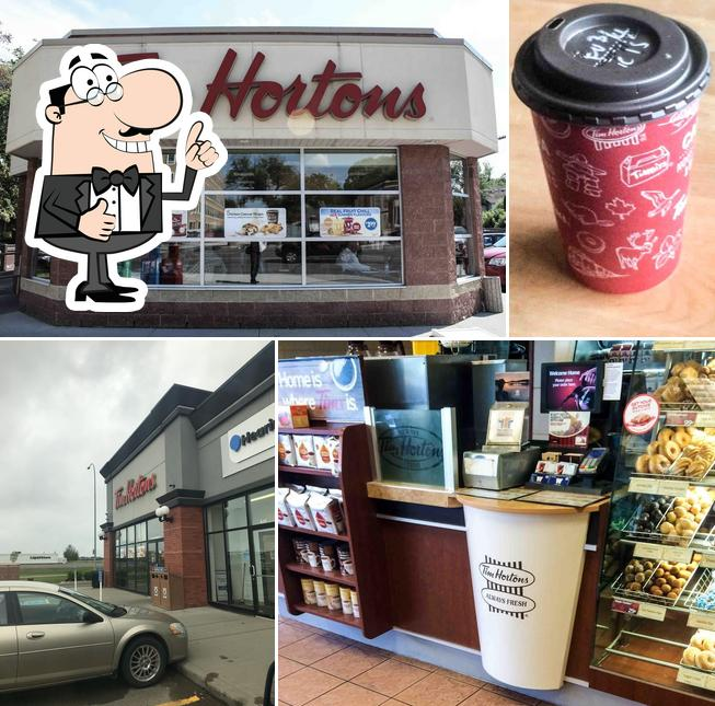 See this image of Tim Hortons