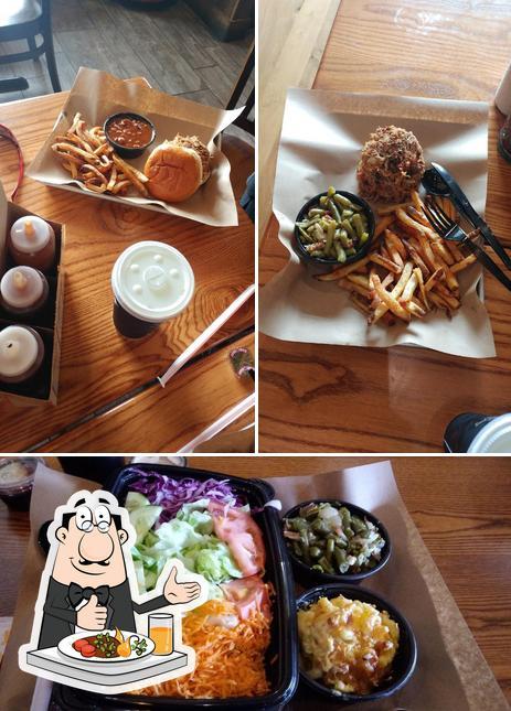 Food at Mission BBQ