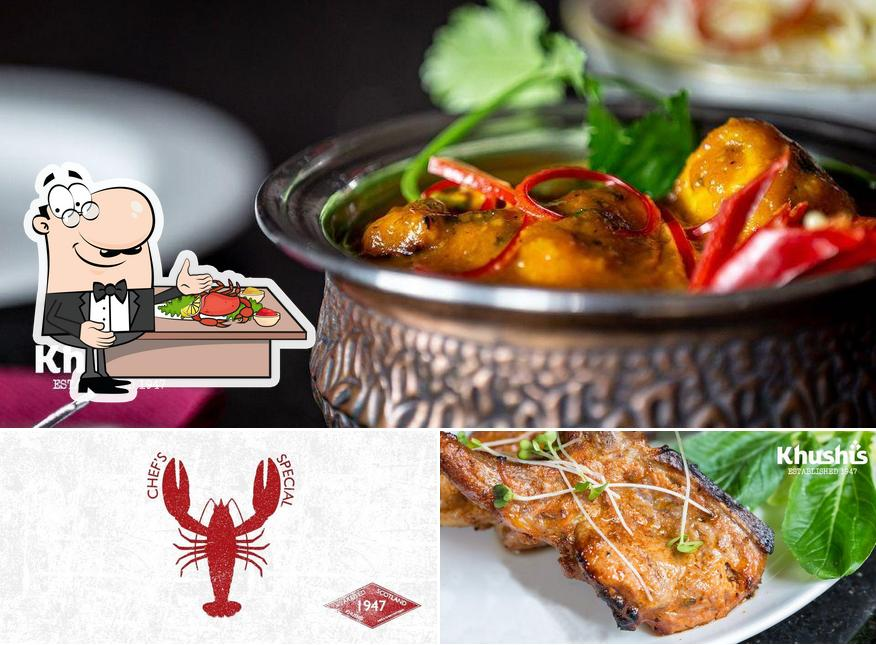 Try out seafood at Khushi's