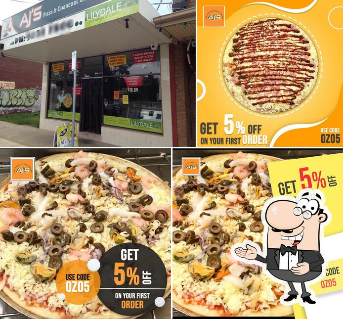 See the image of Aj's Pizza