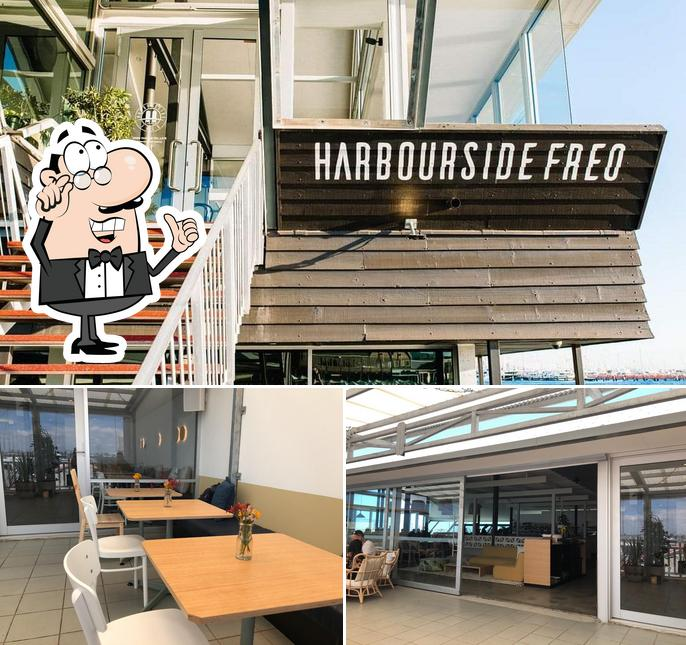 The interior of Harbourside Freo