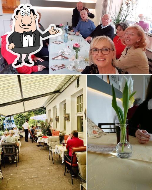 The interior of Restaurant Schillerhöhe