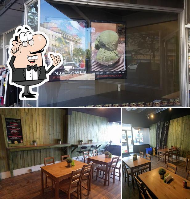 The interior of Hungry Ninja