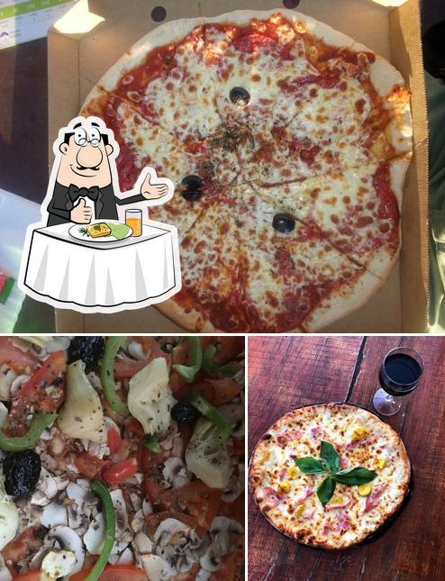 Food at Pizza Ré