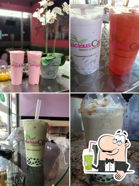 TeaLicious Cafe offers a range of beverages