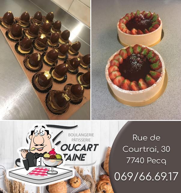 Boulangerie Foucart-fontaine sert une variété de desserts