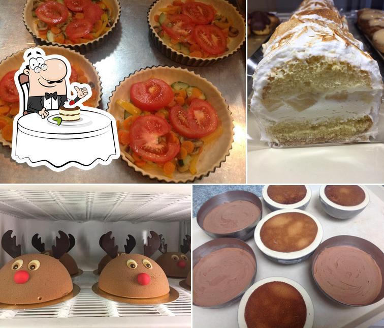 Boulangerie Caryn serves a range of desserts