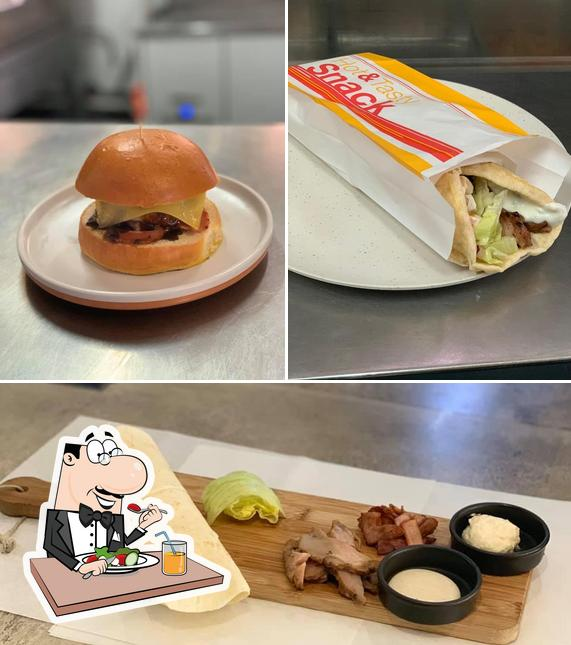 "Еда в ""Pancho's Pizza & Pasta"""