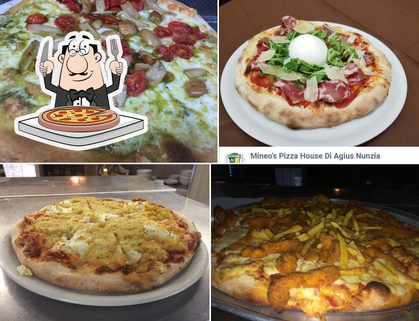 Prenditi una pizza a Mineo's Pizza House