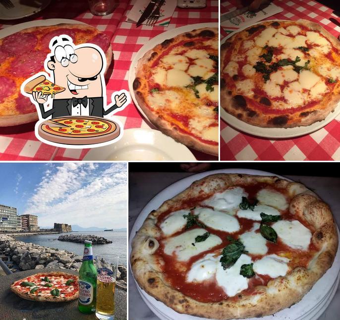 Pick pizza at Trattoria da Pasquale