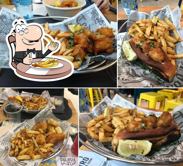Commandez des frites à Fish'tro