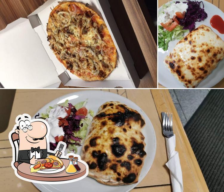 Bestellt eine Pizza bei Efsane