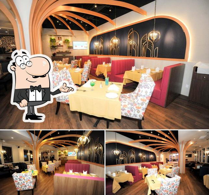 The interior of Fusion Authentic Indian Cuisine