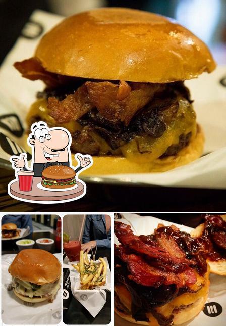 Delicie-se com um hambúrguer no Saint Joe Burgerhouse
