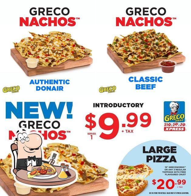 Pick various types of pizza
