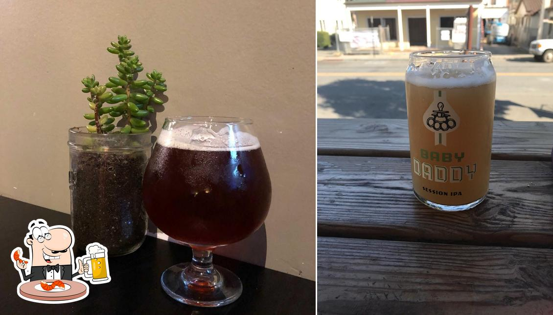 Sacrilege Brewery + Kitchen offers a number of beers