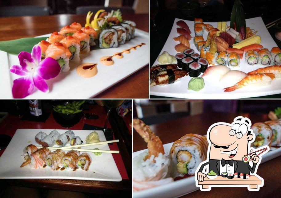 Order various sushi options