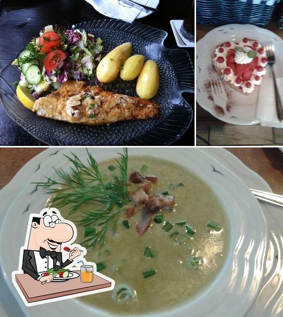 """Еда в """"Seglerheim"""""""