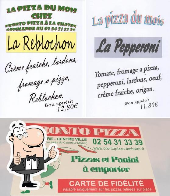 Regarder la photo de pronto pizza