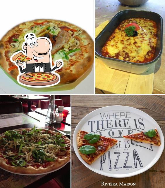 Try out pizza at Dronten