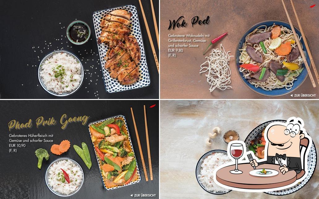 Gerichte im Imm-D Thai to go & Restaurant