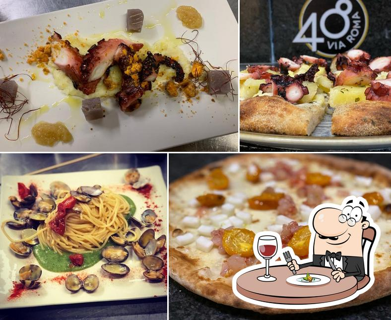 Food at Via Roma Quarantotto