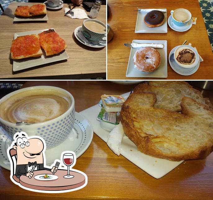 Comida en Café y Copas César Llosas